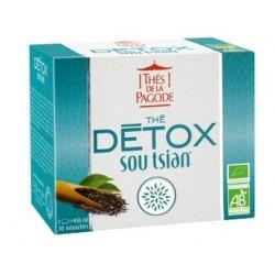 Thé détox Sou Tsian (30 infusettes) - Thés de la Pagode