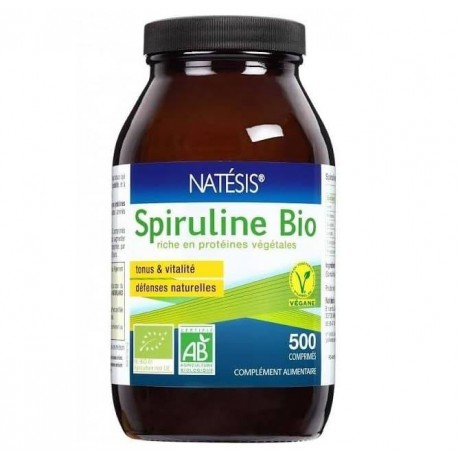 Vente SPIRULINE BIO natesis - (Naturland & Ecocert) 12006 Compléments alimentaires et bio
