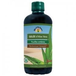 GELÉE D'ALOÉ VERA (variété de cactus,adoucissant digestif,calme les irritations )