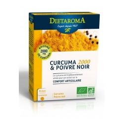 Curcuma 2000 et Poivre noir - DIETAROMA