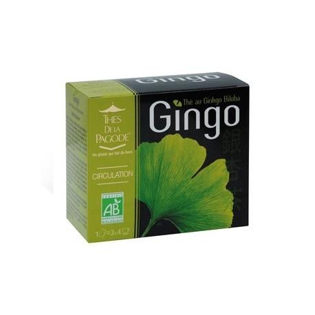 Gingo - Circulation - Thés de la Pagode